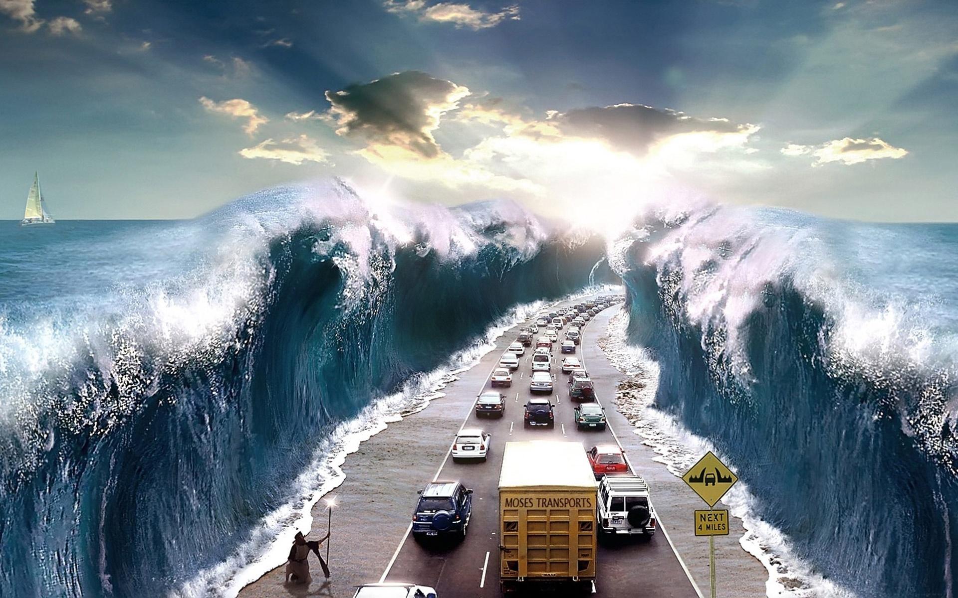 イメージ地球splitting_of_the_sea-wide